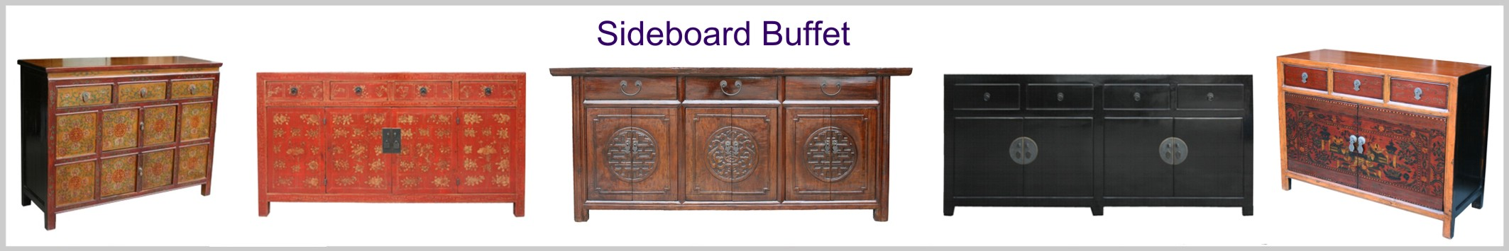 Chinese Sideboard