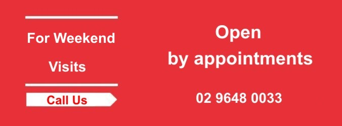 For Weekend - By Appoint